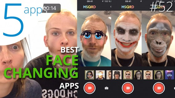 How to change face in a video? The 5 best face changing apps