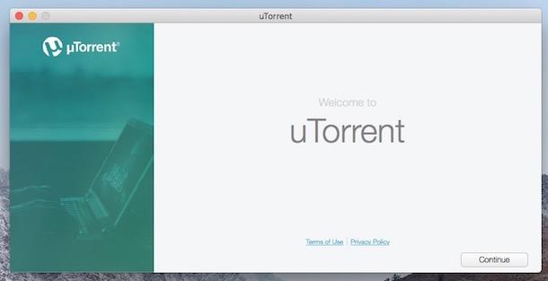 Mac-uTorrent