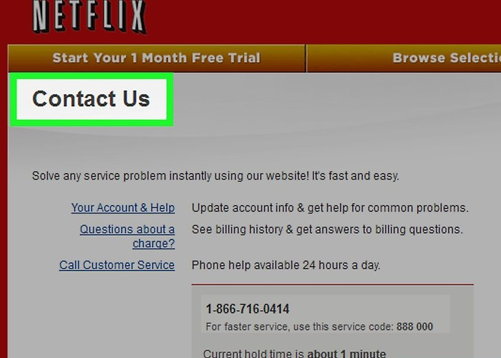 Netflix-Customer-Service