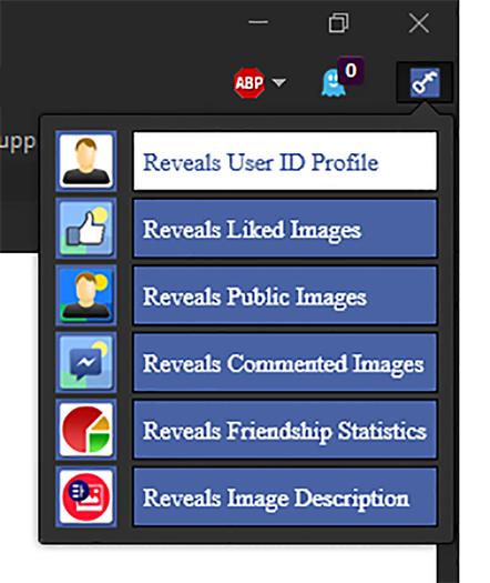 Secret Revealer for Facebook